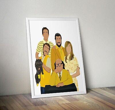 It S Always Sunny In Philadelphia Print Poster Wall Art Gift Home Decor Ebay