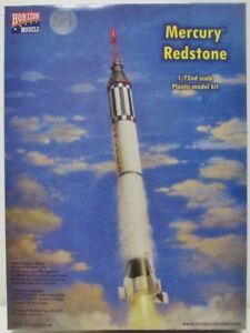 Horizon-Models-2004-Mercurio-Redstone-Cohete-con-Capsula-Plastico-Kit-1-72