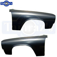 1971 1972 El Camino & Chevelle Wagon Front Front Fenders - Pair Lh & Rh