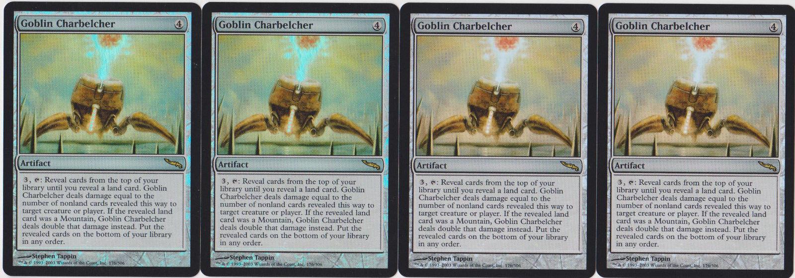 Foil Goblin Charbelcher - Mirrodin X4 MTG