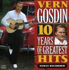 Vern Gosdin - 10 Years of Greatest Hits [New CD]