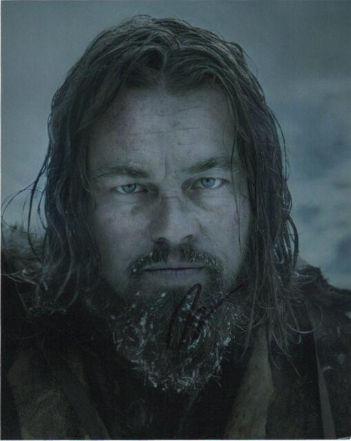 Leonardo DiCaprio Revenant Autographed Signed 8x10 Photo COA #4
