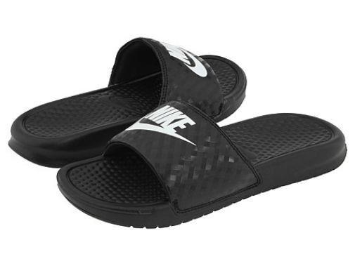 Nike Benassi JDI Women US 7 Black Slides Sandal Pre Owned 1964 for sale  online  fe02663bd7af
