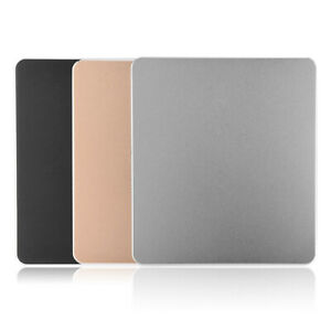 Non-slip-Metal-Aluminum-Alloy-Mouse-Pad-Computer-Gaming-Mice-Mat-For-PC-Laptop