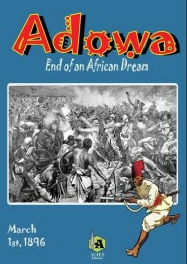 Adowa  End of an African Dream, Wargame, New by Acies, English Edition