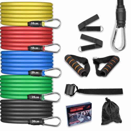 5//11tlg Widerstandsbänder Resistance Bands Fitness GYM Fitnessbänder Gummibänder