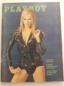 Vintage-Playboy-Magazine-May-1971-Centerfold-Included-Detached-Janice-Pennington