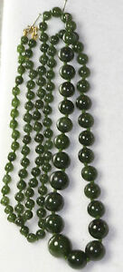14K-GOLD-RESTRUNG-VINTAGE-OPERA-LENGTH-GRADUATED-JADE-BEADS-NECKLACE