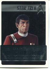 Star Trek 50th Anniversary [2017] Starfleets Captains Chase Card C07 C Spock