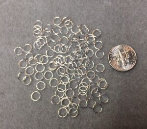 100-Silver-Plated-Open-Jump-Rings-6mm