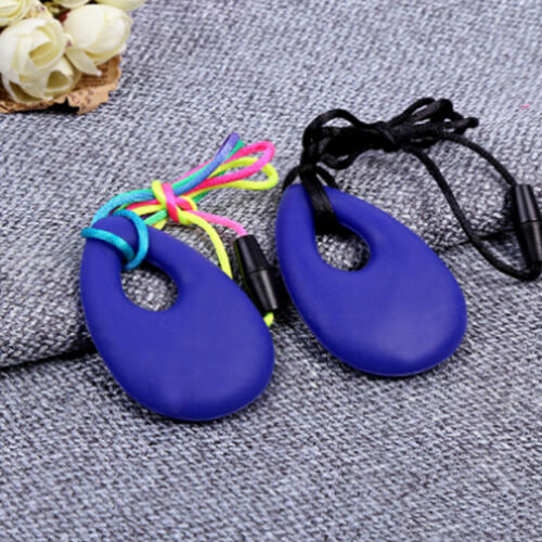 Baby Silicone Teething Chain Necklace Nursing Teether Pendant Chew Safe Toy QP