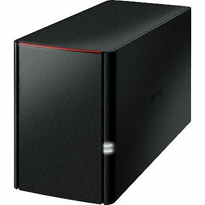 Buffalo Technology LinkStation 220 2 TB, NAS, schwarz