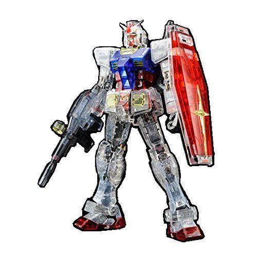Móvil Suit Gundam Exhibition Tokyo Limitado Rg RX-78-2 Color Transparente Ver