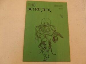 Beholder Fanzine Issue 12-afficher Le Titre D'origine Pour ExpéDition Rapide