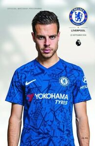 Chelsea-v-Liverpool-Premier-League-22-09-19-Matchday-Programme-with-teamsheet