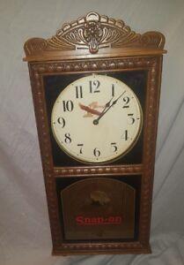 SNAP ON WALL CLOCK Snap-On Clock Snap On Clock VINTAGE CLOCK