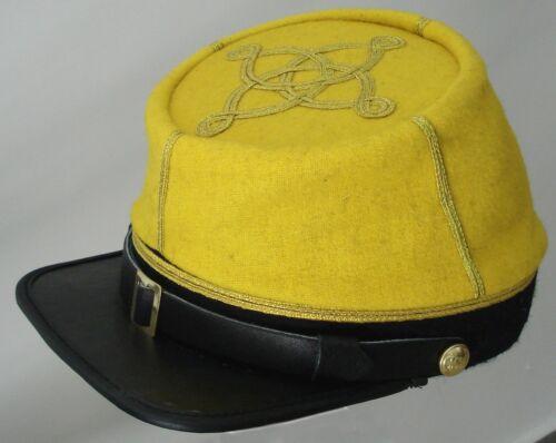 2 GOLD BAR CAPTAINS Confederate CAVALRY KEPI AMERICAN CIVIL WAR