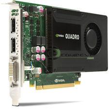 NVIDIA Quadro K2000 2GB PCIe x16 DisplayPort DVI Kepler GPU Graphics Adapte