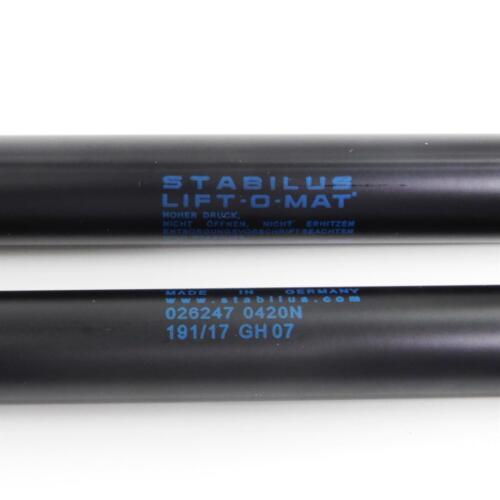 2x Stabilus LIFT-O-MAT Gasfeder Dämpfer Heckklappe BMW 3er Compact E36 026247