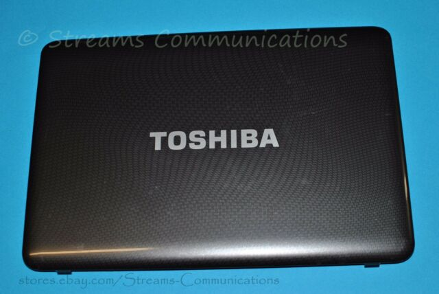 TOSHIBA Satellite L645 L645D Laptop LCD Back Cover (Rear Lid) + Webcam + Antenna