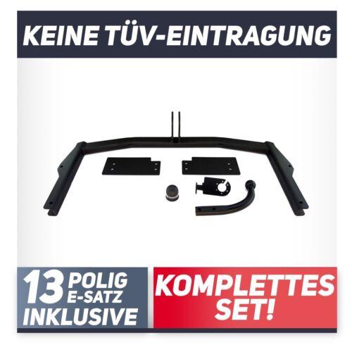 E-Jeu 13p Pour Mazda 6 GY Kombi 03-08 attelage rigide