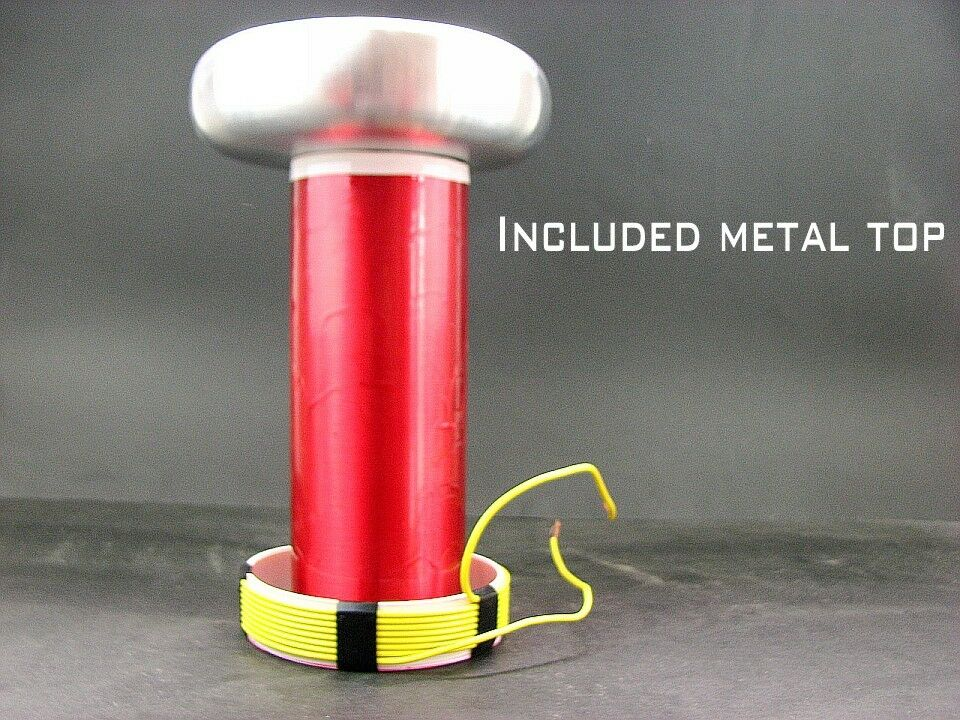 Alloy Top Load +Primary coil +secondary coil Tesla Coil DIY SSTC DRSSTC