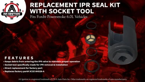 IPR Socket Tool Screen Kit Replaces# 3C3Z9H529A Fits Ford Powerstroke 6.0L
