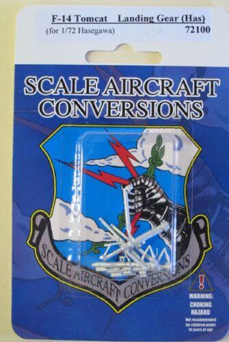 F-14 Tomcat Landing Gear 1//72 Scale Hasegawa Model SAC 72100