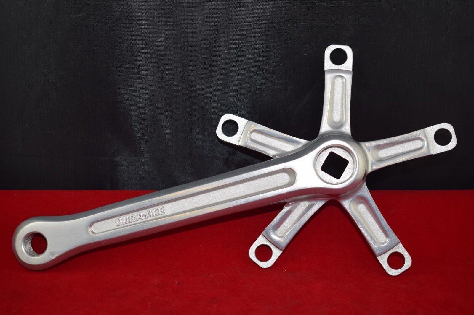 Shimano DURA-ACE crank arm right chainwheel side 175  mm BCD 130 aluminium NOS  very popular