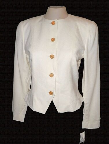 Msrp 00 8 Nuovo pettinata collezione blazer 170 d'avorio lana Tanner lana 100 wF8xPvq