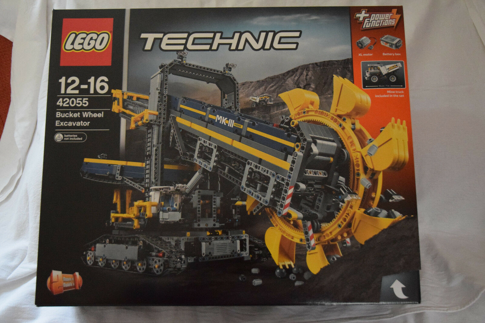 LEGO Technic 42056 Schaufelradbagger OVP, Neu, MISB