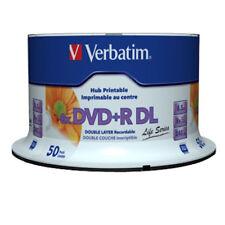 50x Verbatim DVD+R DL Double Layer Rohlinge 8,5 GB 8x speed voll bedruckbar
