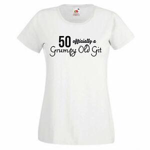 Womens Graphic 50th Birthday T Shirt