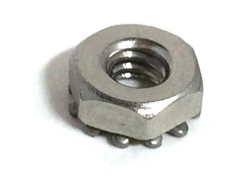 Stainless Steel 4-40 Keps Nuts K-Locks Qty 1000