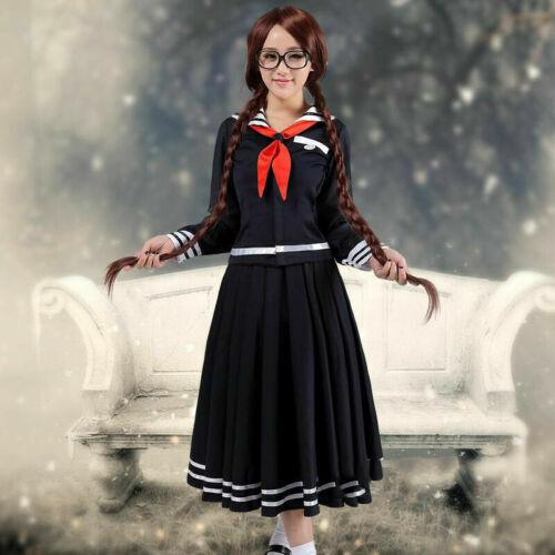 Danganronpa Dangan ronpa Cosplay Dress Touko Toko Fukawa Halloween Costume
