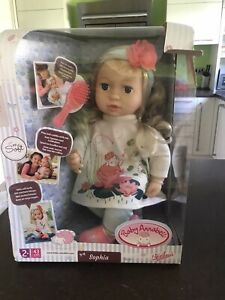 Baby Annabell Sophia So Soft 43cm   eBay