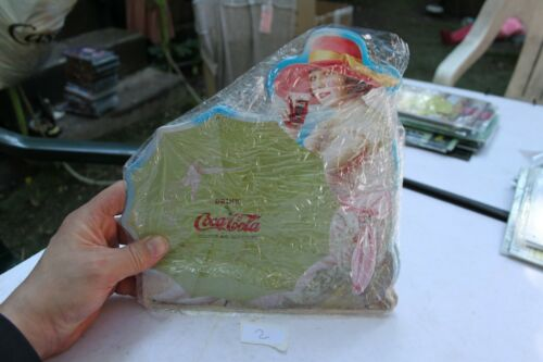 Plate Advertising Metal Coca Cola New Belle Collectible
