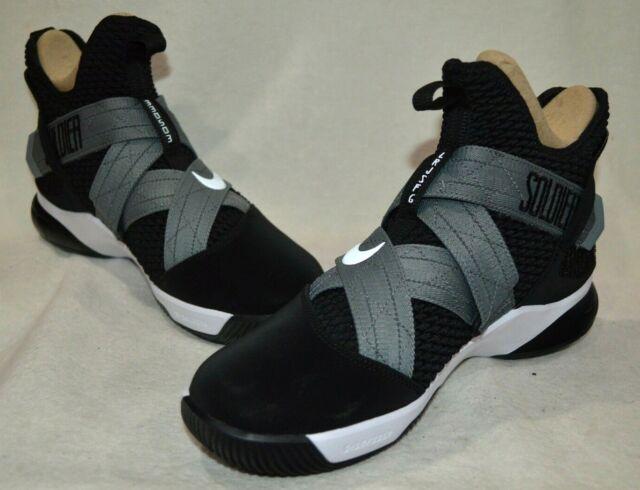 5451712baeb Nike LeBron Soldier XI SFG Black White Men s Basketball Shoes-Assorted  Sizes NWB