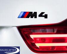 Original BMW F82 F83 M4 Schriftzug schwarz ///M 4 Logo - badge label black