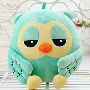 50cm Big Cute Green Owl Plush Giant Stuffed Soft Huge Toy Animal