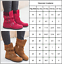 Womens-Winter-Warm-Ankle-Matte-Boots-Suede-Snow-Booties-Buckle-Flat-Zipper-Shoes thumbnail 3