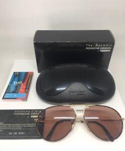 2fab5ec1c354 Image is loading New-Vintage-Porsche-Design-Aviator-Sunglasses-Carrera-M-
