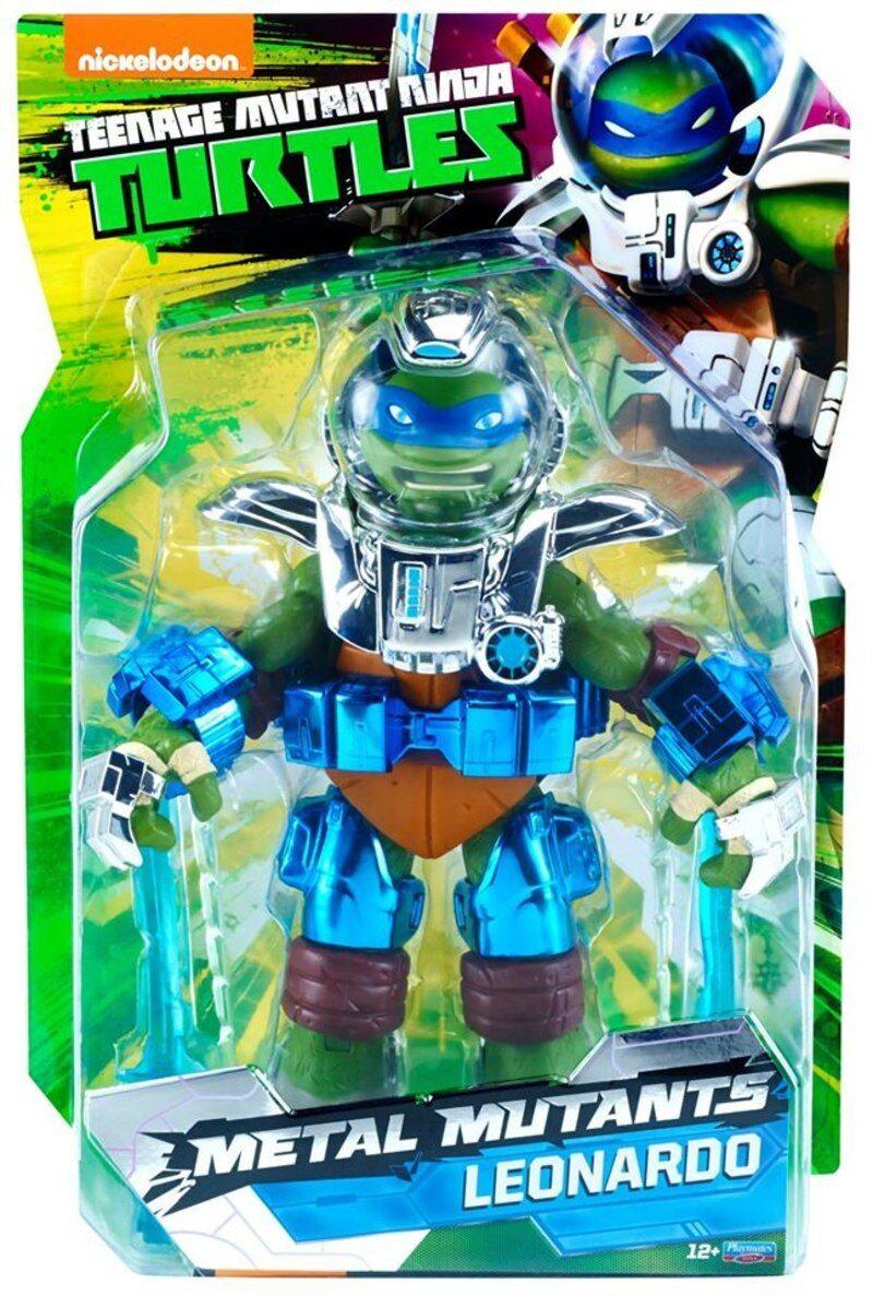 Sdcc 2018 Teenage Mutant Ninja Turtles Metal Mutantes Leonardo Figura 11 Leo
