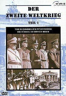 Der Zweite Weltkrieg 1: Vom Blitzkrieg zum Wüstenkri... | DVD | Zustand sehr gut