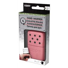 Zippo PINK Reusable Hand Warmer Outdoor Pocket Heat Handwarmer Winter Gift