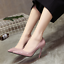 Women-039-s-office-shoes-Ladies-High-Stiletto-Heels-Leather-Pointed-Toe-Party-Shoes thumbnail 14