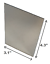 Unbreakable-Mirror-3x4-034-Camping-Kit-RV-Shaving-Survival-8x10cm-Strong-Plastic thumbnail 1