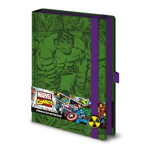 Constructif Marvel Premium A5 Notebook Incredible Hulk Marchandises De Haute Qualité