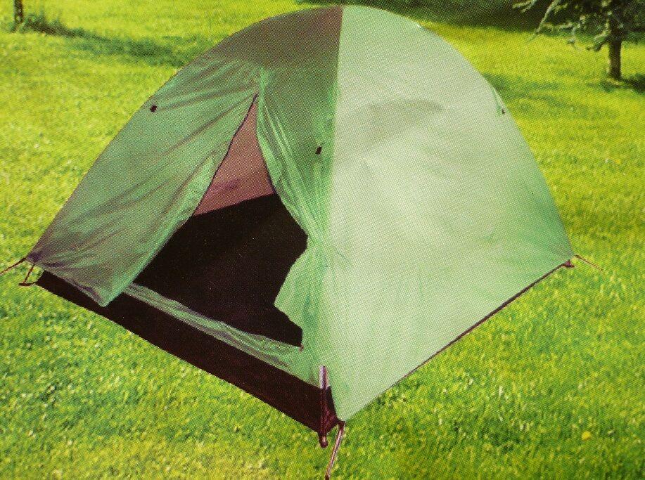 Tenda doppio telo dakota grande cm240x240x140 campeggio pesca carpfishing