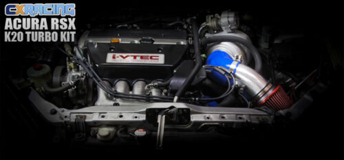 Cold Air Intake Kit For 01-06 Civic Integra DC5 RSX K20 Long Tube Design BK Hose